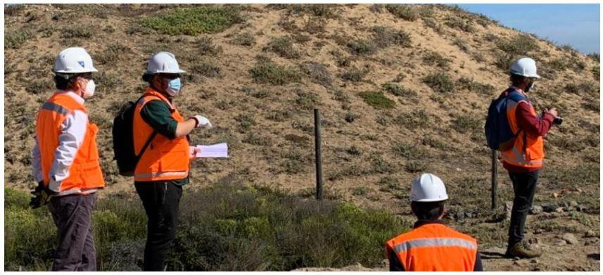 Organizaciones ambientales y de pueblos originarios visitan obras del proyecto INCO en Los Vilos